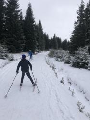 Výlet na běžkách