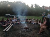Večer u táboráku