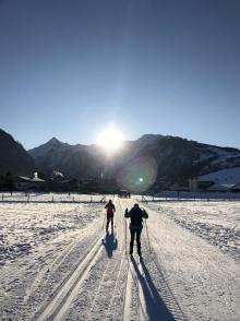 Výcvik běžeckého lyžování