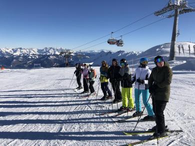 Výcvik sjezdového lyžování