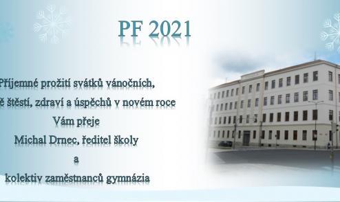 PF 2021 - Gymnázium Písek