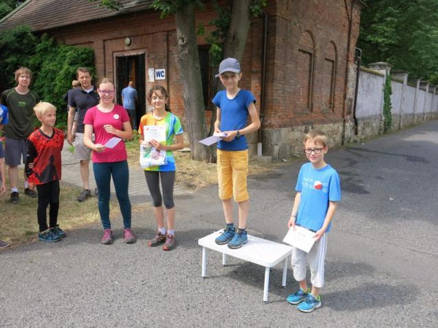 Kategorie registrovaných závodníků